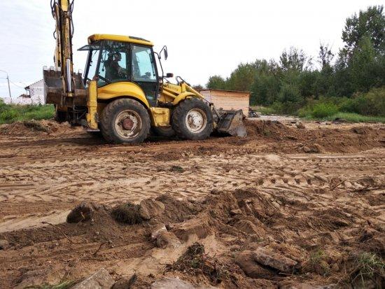 Выравнивание участка под строительство в Гродно и области