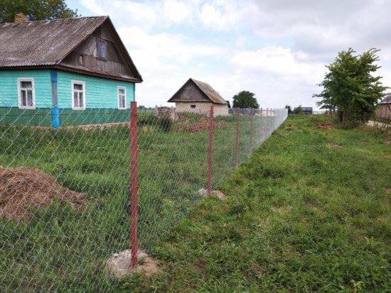 Установка забора в Гродно и области